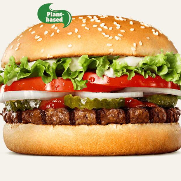 Plantaardige Whoppers bij Burger King in Nederland verkrijgbaar