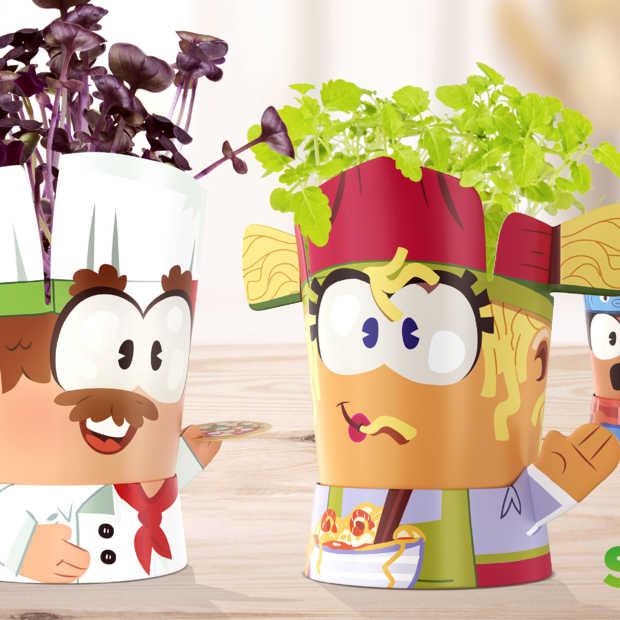 Plus laat kinderen nieuwe smaken ontdekken