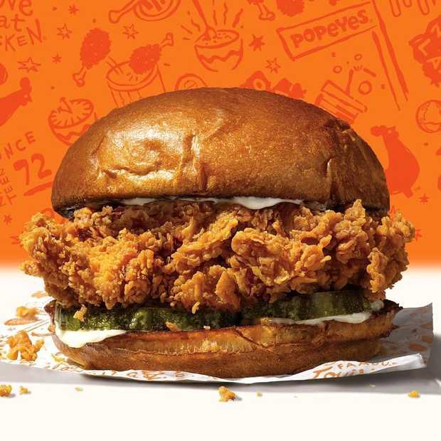 Comeback van kipburger die heel Amerika in rep en roer bracht