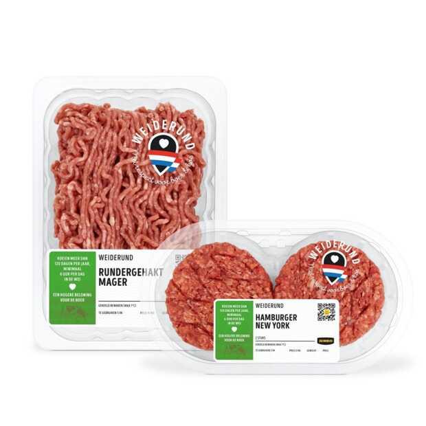 Jumbo heeft primeur met vleesproducten van weiderunderen