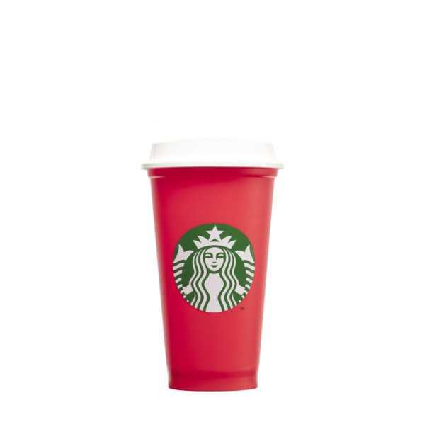 Bij Starbucks zijn de Red Cups terug voor de feestdagen
