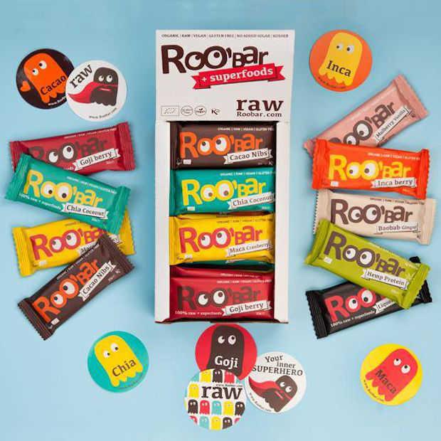 Eatly proeft: Roobar repen gemaakt met superfoods