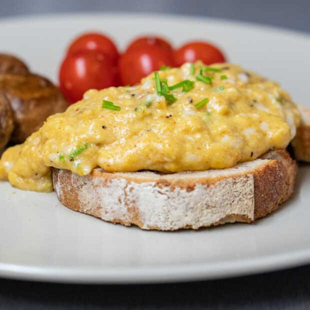 Kipster heeft plantaardig ei ontwikkeld onder de noemer Veggs
