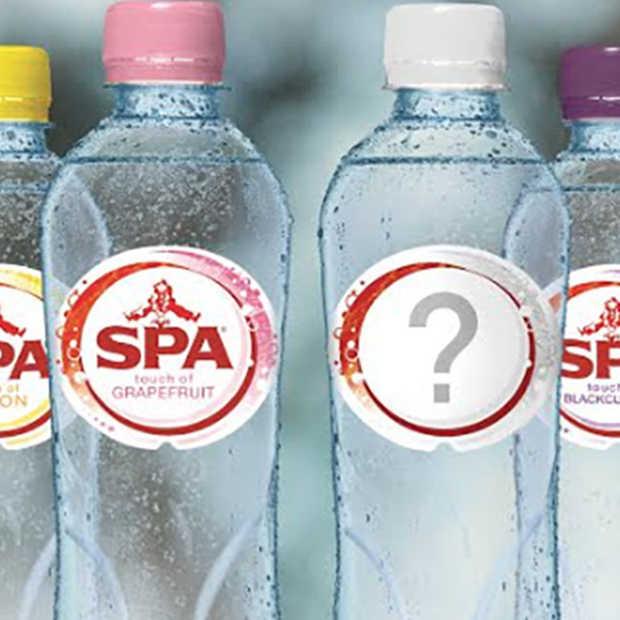 Bedenk jij de nieuwe 'touch of' smaak van SPA?