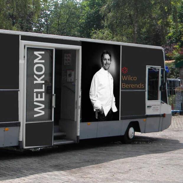 Restaurant De Nederlanden rijdt met luxe delicatessenwinkel op wielen rond