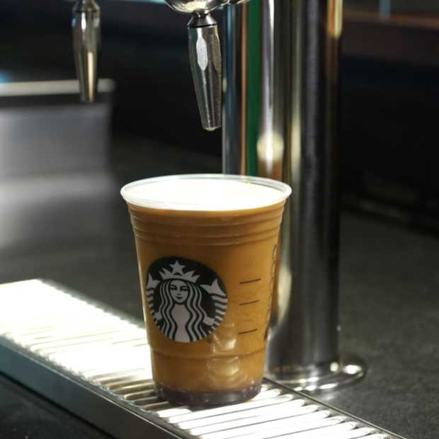 De nieuwe koffie van Starbucks is gebaseerd op een biertje