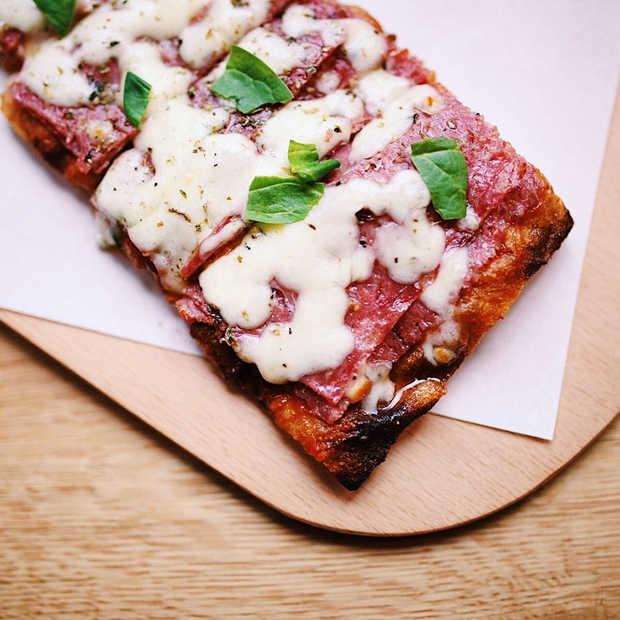 Gezonde vierkante pizza's veroveren de wereld!