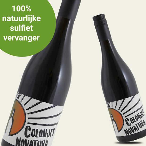 Wijn met natuurlijke sulfietvervanger te koop bij Marqt