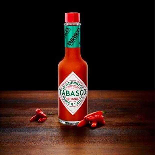 Tabasco al 150 jaar wereldwijd smaakmaker in gerechten en dranken