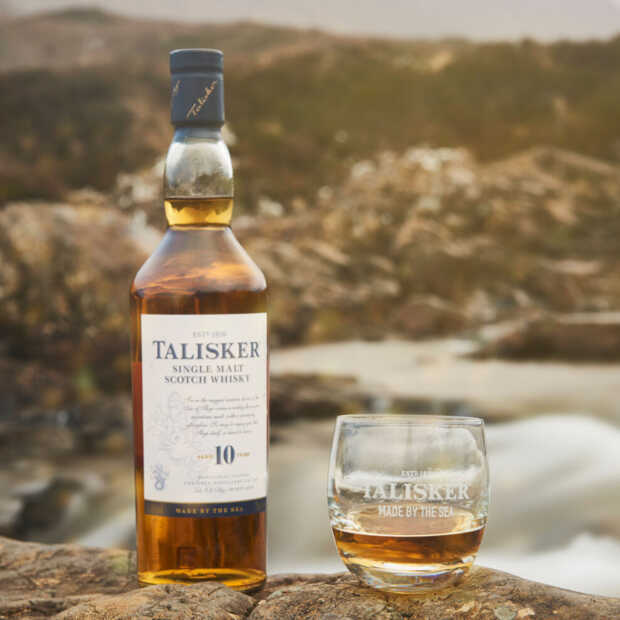 Talisker eert met zijn whisky's al bijna twee eeuwen het Schotse eiland Skye