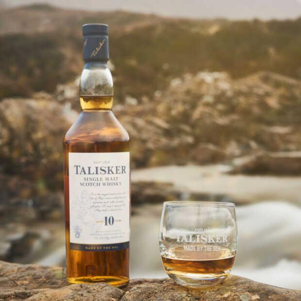 Whiskymerk Talisker start samenwerking om oceanen te beschermen