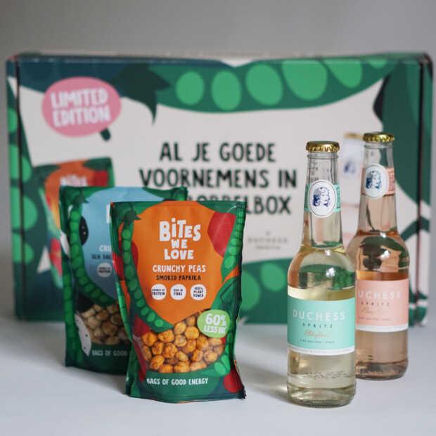 Ideale borrelbox voor een avondje gezelligheid tijdens Dry January