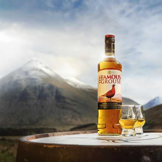 Zo smaken de whisky's van The Famous Grouse