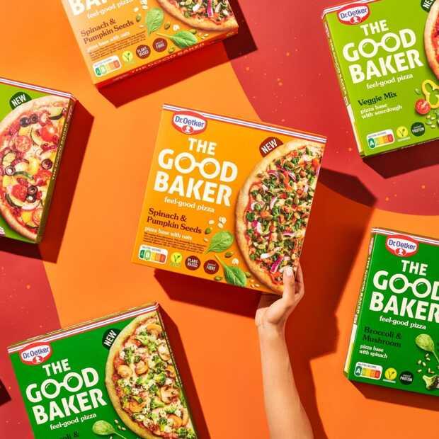 Dr.Oetker brengt nieuwe vegetarische en veganistische pizza's op de markt