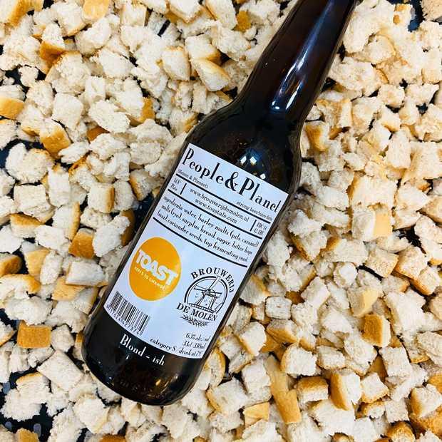 Brouwerij De Molen maakt bier van onverkocht brood