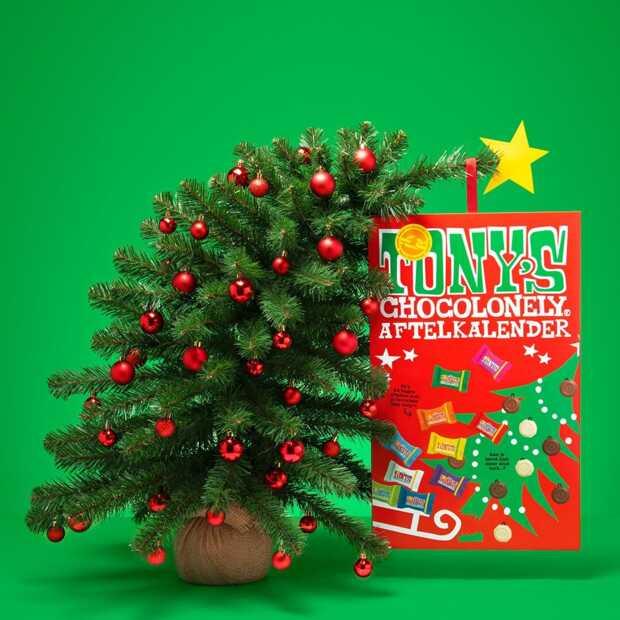 Tony's Chocolonely komt met aftelkalender gevuld met Tiny Tony's
