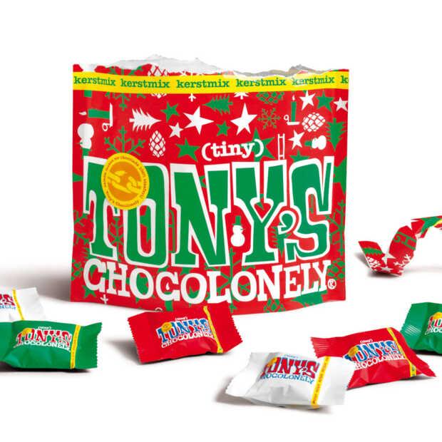 Tony's komt met nieuwe kerstreep en mini's vlak voor kerst