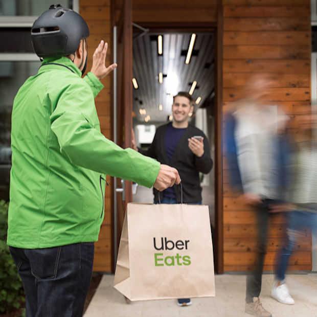 Samenwerking KFC en Uber Eats eerder van start