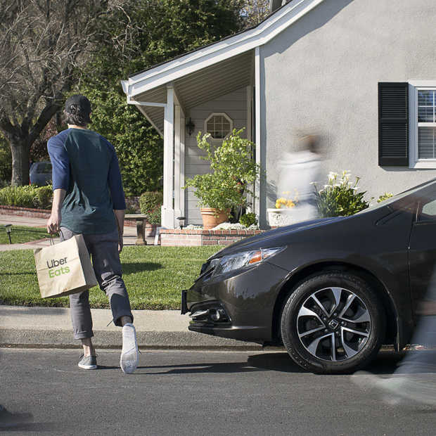 Uber in gesprek met Europese supermarkten over bezorgen boodschappen
