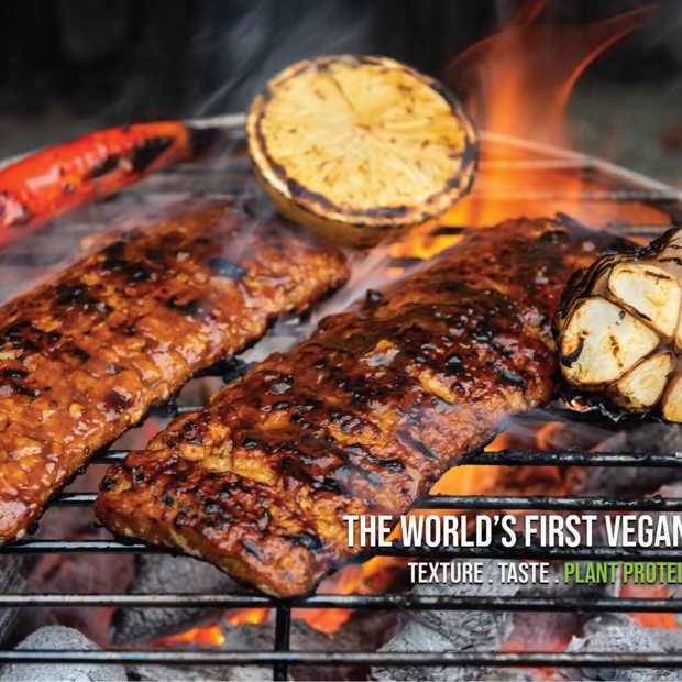 Eerste vegan ribs ter wereld komen uit Nederland