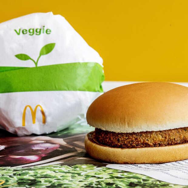 Veggie McKroket tijdelijk verkrijgbaar bij McDonald's