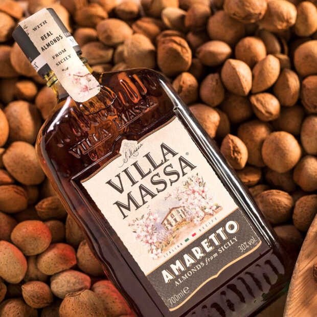 Villa Massa introduceert eigen Amaretto als nieuwe likeur