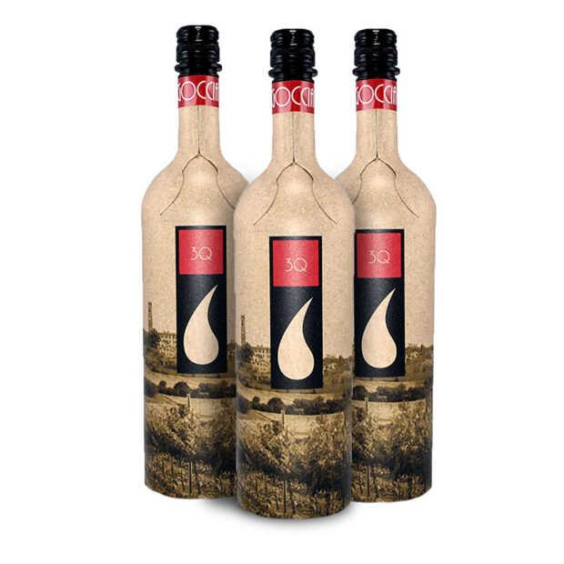 Eerste wijn in een papieren fles te koop bij Marqt