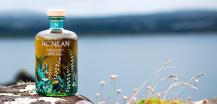 Nc'nean maakt een bijzonder florale single malt whisky en gin 2.0