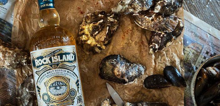 De blended whisky's van Rock Island zijn een ode aan de zee