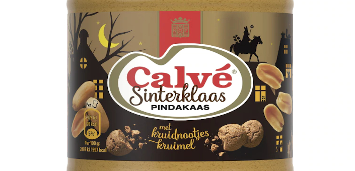 Dankzij Calvé bestaat er nu pindakaas met kruidnoten
